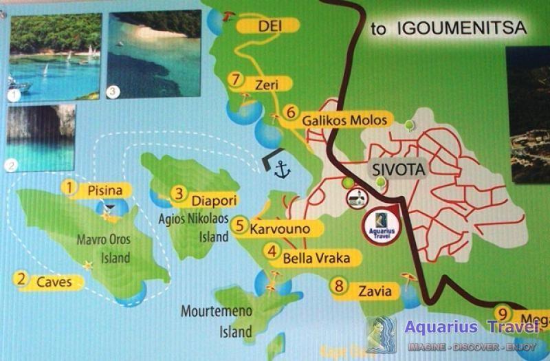 Sivota Strana 115 Ostala Letovalista Na Obali Jonskog Mora