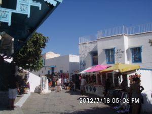 Tunis 2012  - Sus - Sahara - El Dzem - Kartagina - Sidi Bou Said - Tunis grad - Hotel El Jinene